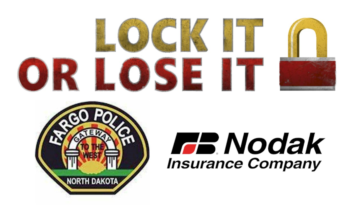Fargo Police Department Lock it or Lose it